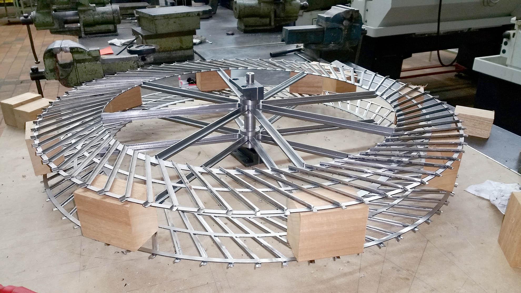 Maquette roue avins