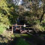 Les Avins le barrage avec ses vannes à restaurer
