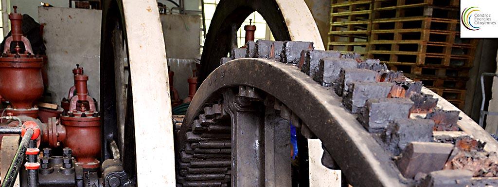 La roue Sagebien: Les engrenages