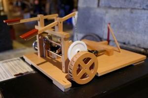 Maquette soufflets Vue roue