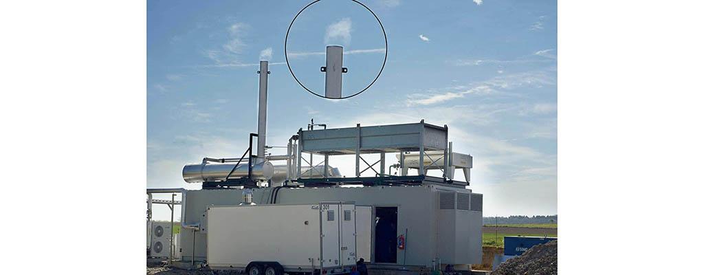 La production d'électricité a commencé à Ochain