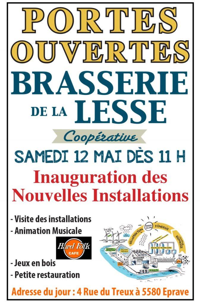 Invitation Brasserie de la Lesse