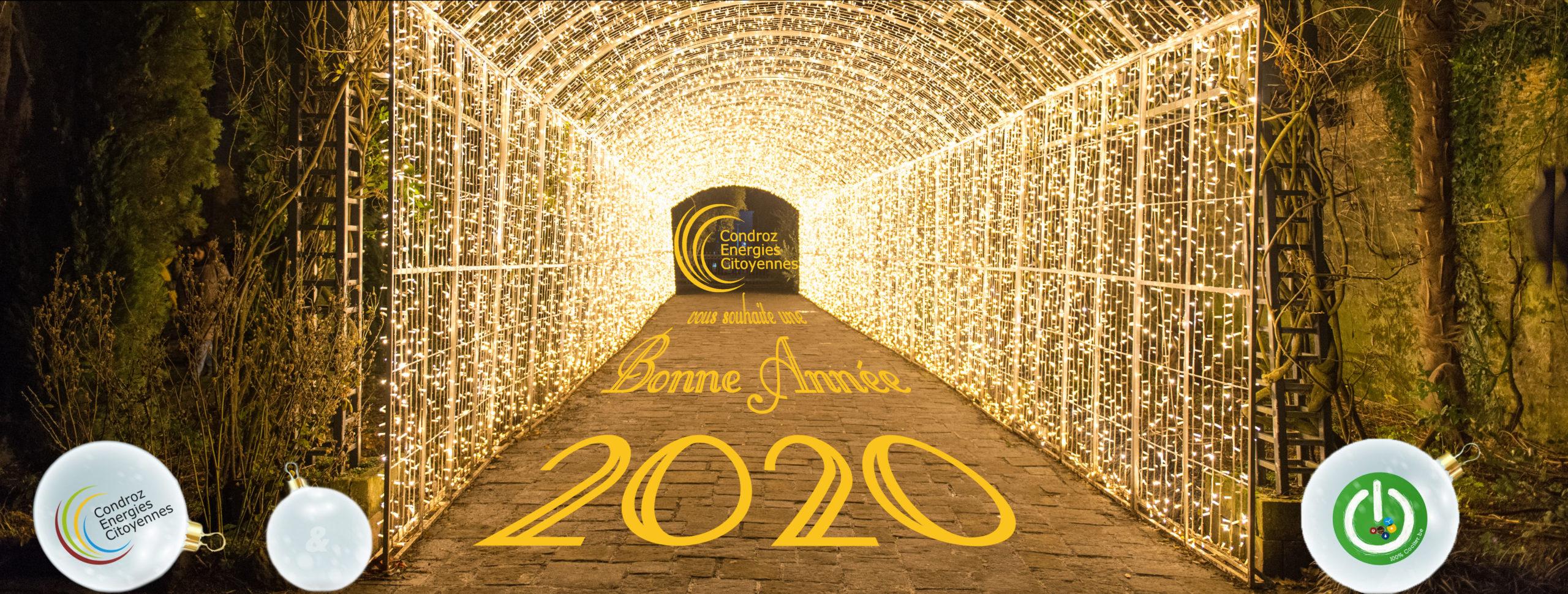 Adieu 2019 Bonjour 2020