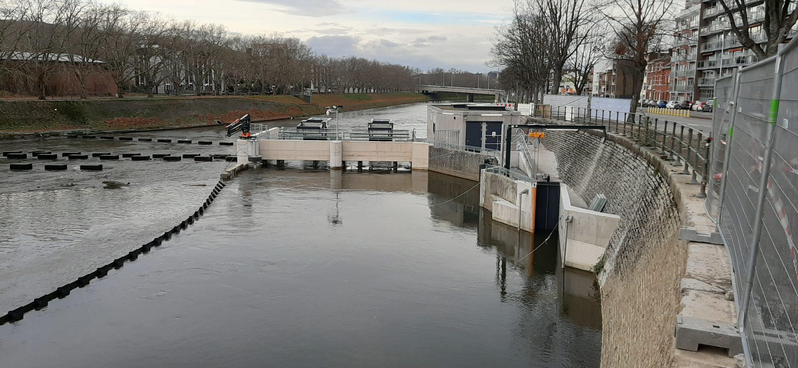 La centrale des Gosses Battes est sous eaux