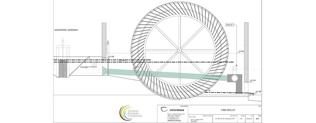 Projet turbine Les Avins