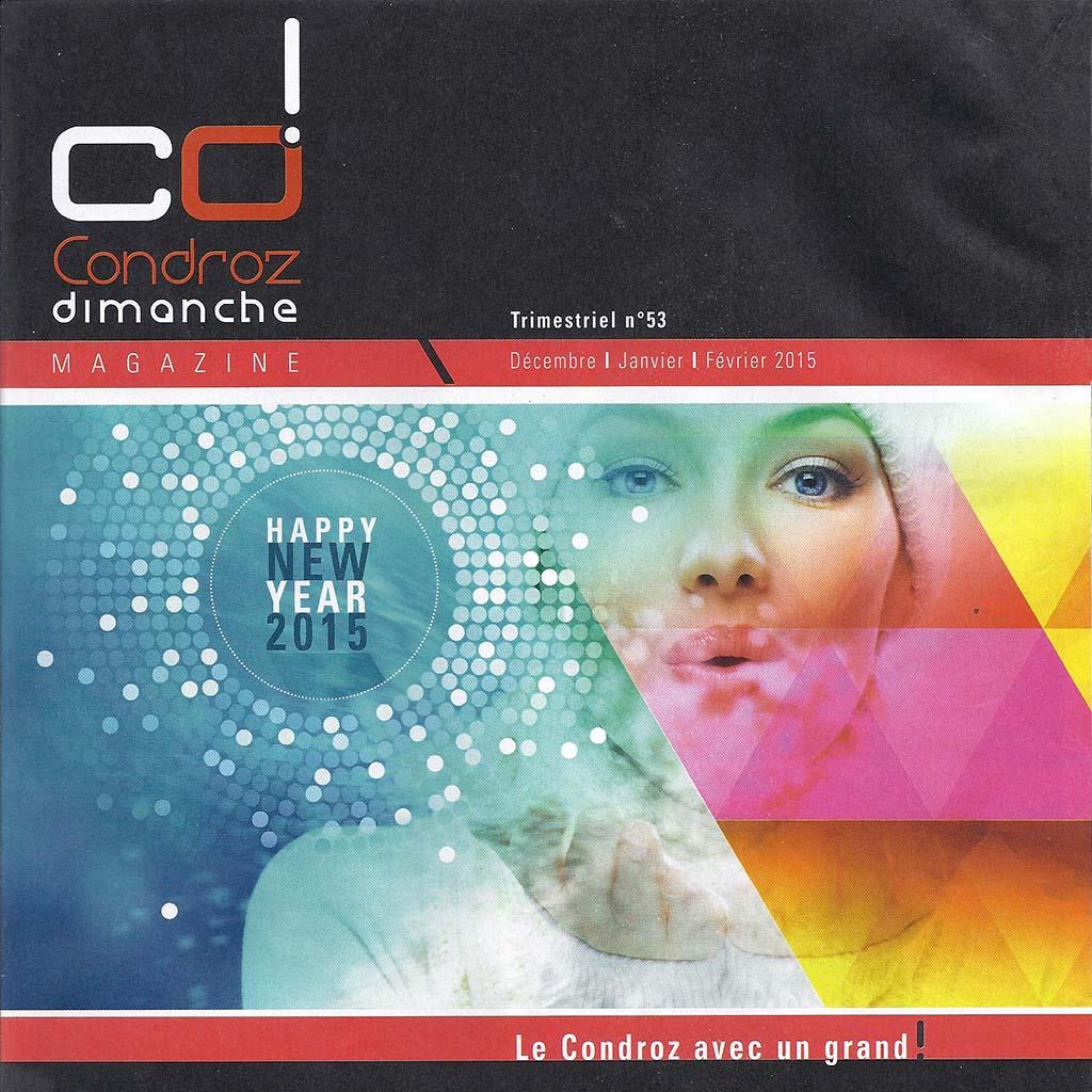 Couverture Condroz Magazine 53